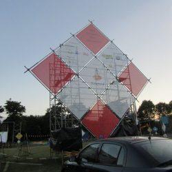 Opbouwen scholen- en Dorpszeskamp 2017