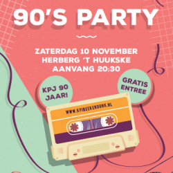 KPJ 90s party Herberg 't Huukske